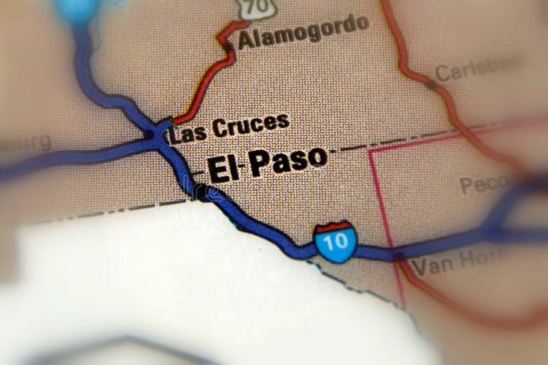 El Paso, il Texas - Stati Uniti Stati Uniti immagini stock libere da diritti