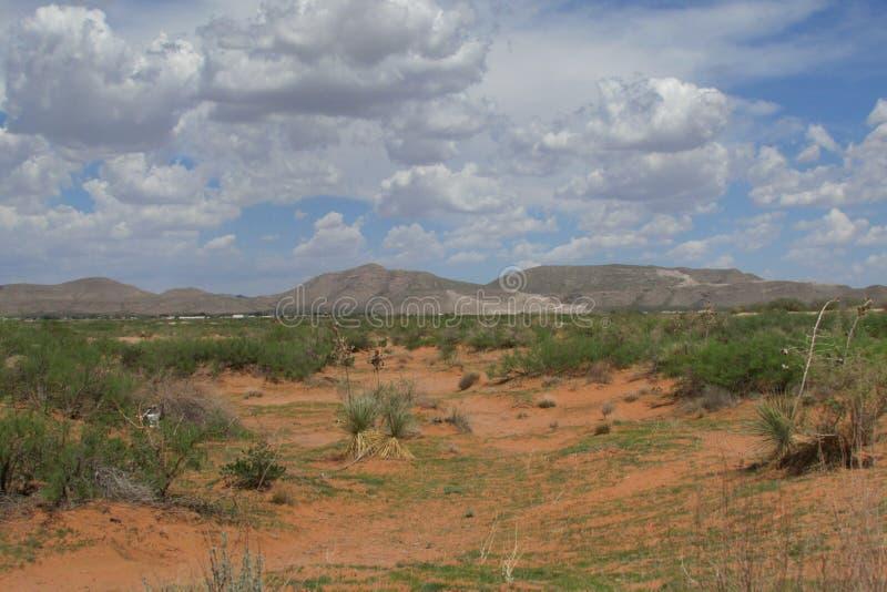 El Paso krajobraz zdjęcie stock