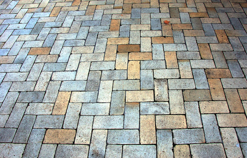 El pavimento del bloque imagenes de archivo