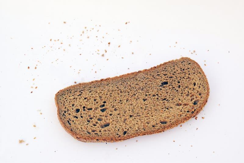 El pedazo de pan fotografía de archivo libre de regalías