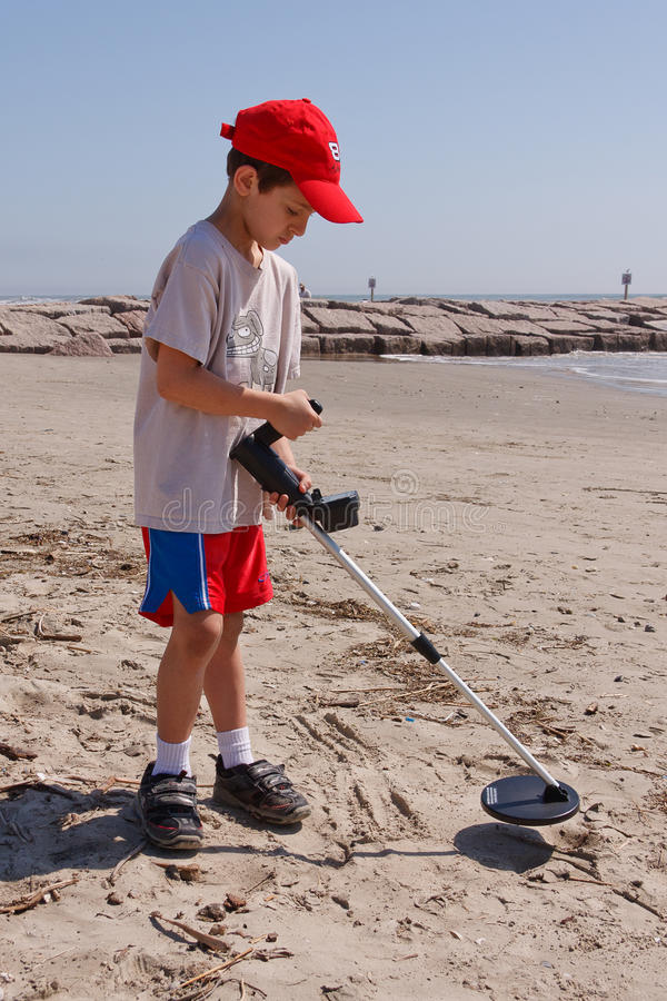 El peinarse de la playa imagen de archivo