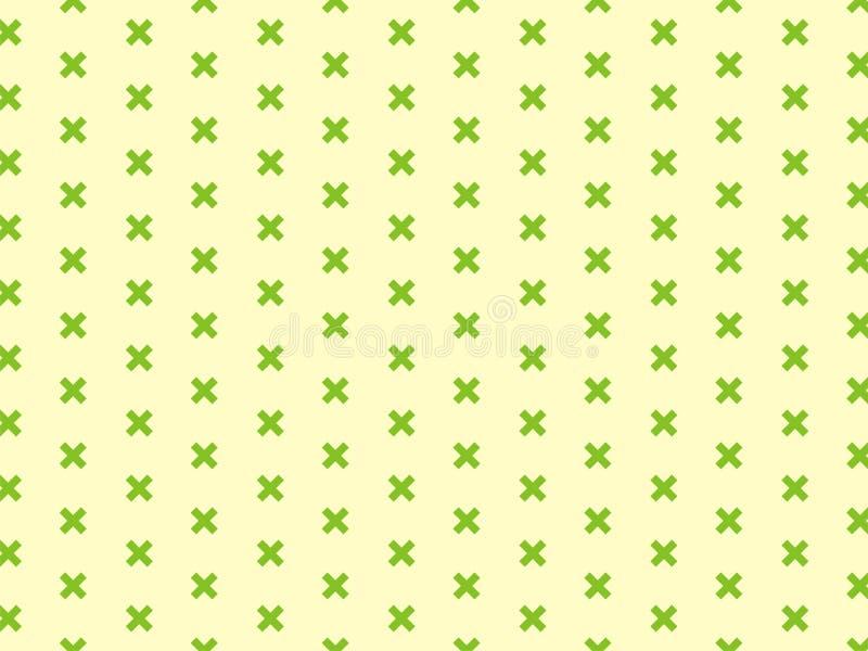 El pequeño contexto cruzado verde imagenes de archivo
