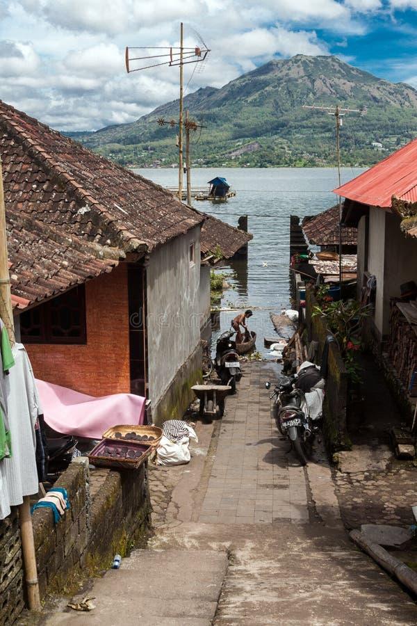 El pequeño pueblo de Truyan fotografía de archivo libre de regalías