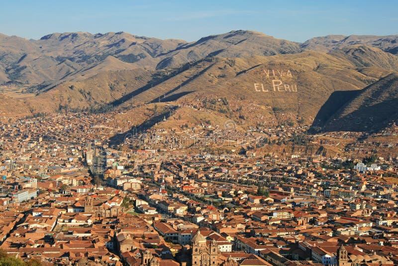 EL Perú, Cuzco de Viva fotografía de archivo