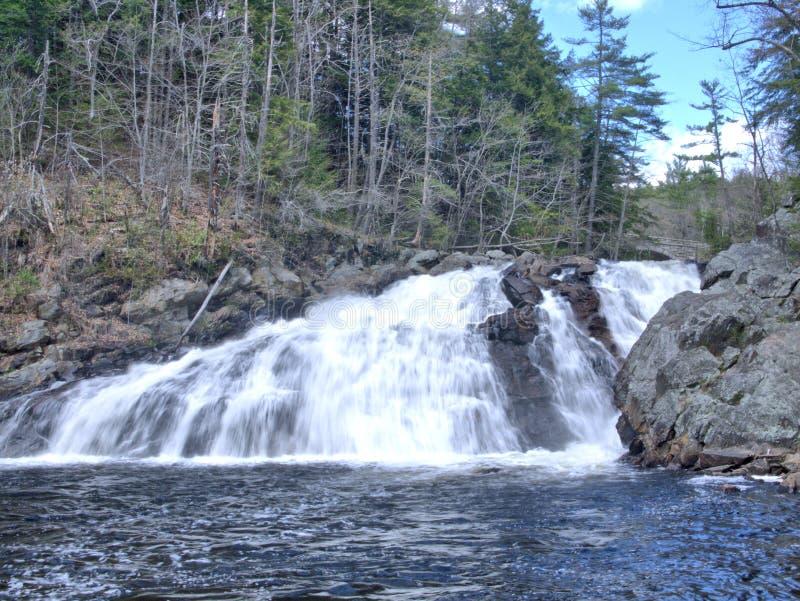 El perfil baja en New Hampshire imagen de archivo libre de regalías