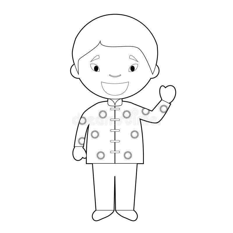 El Personaje De Dibujos Animados Que Coloreaba Facil De Singapur