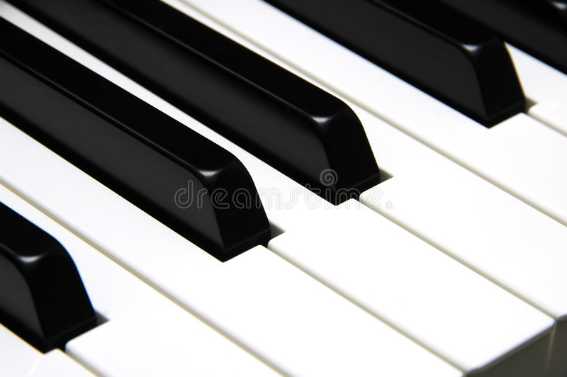 El piano afina el primer fotografía de archivo libre de regalías