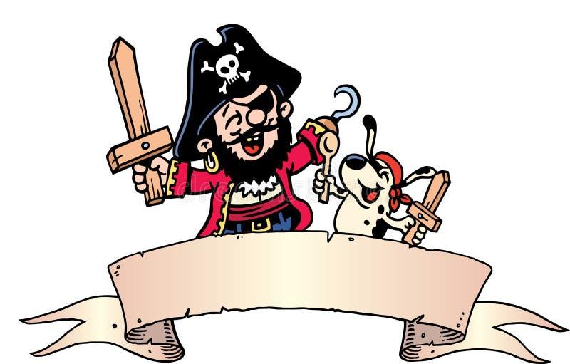 El pirata se viste para arriba libre illustration