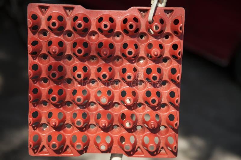 Download El plástico eggs el panel imagen de archivo. Imagen de cesta - 41911345