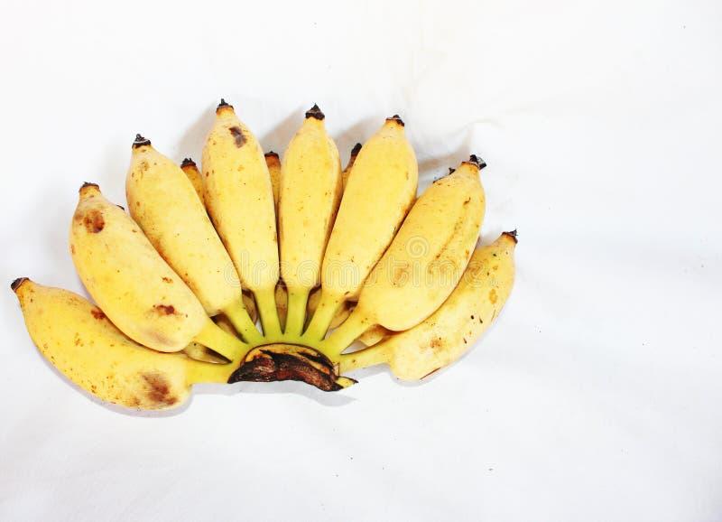 El plátano amarillo fresco come imágenes de archivo libres de regalías
