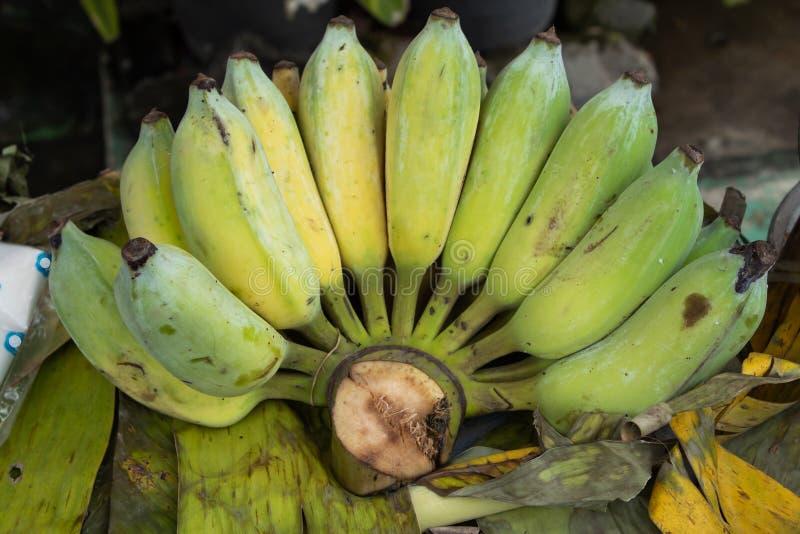 El plátano maduro cocinado come fotos de archivo libres de regalías