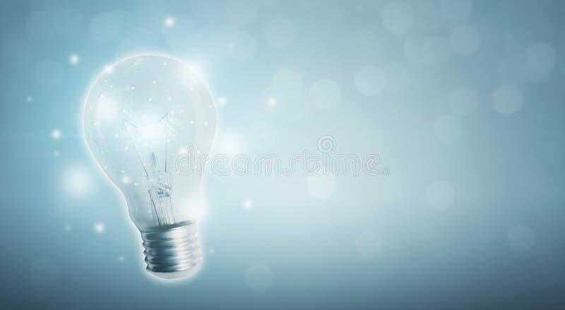 El poder de la creatividad, de la tecnología, de la innovación o de artificial adentro ilustración del vector