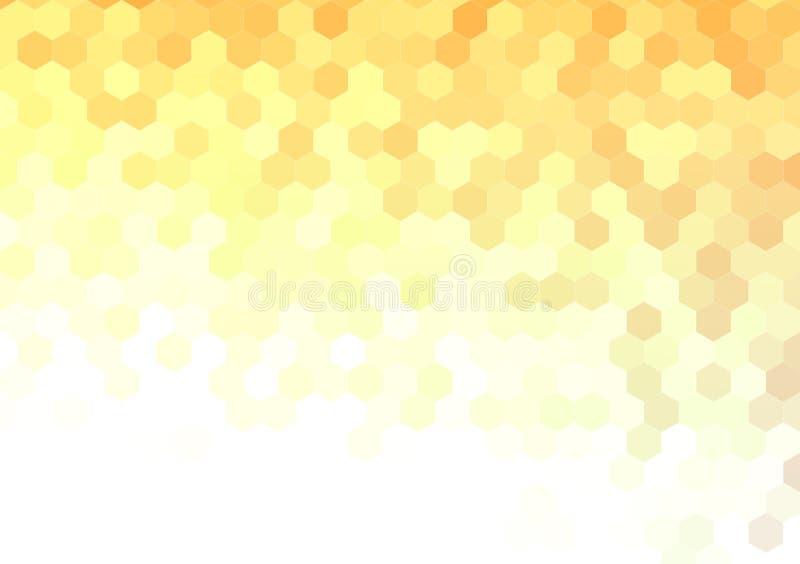 El polígono formó el fondo del diseño del papel pintado ilustración del vector