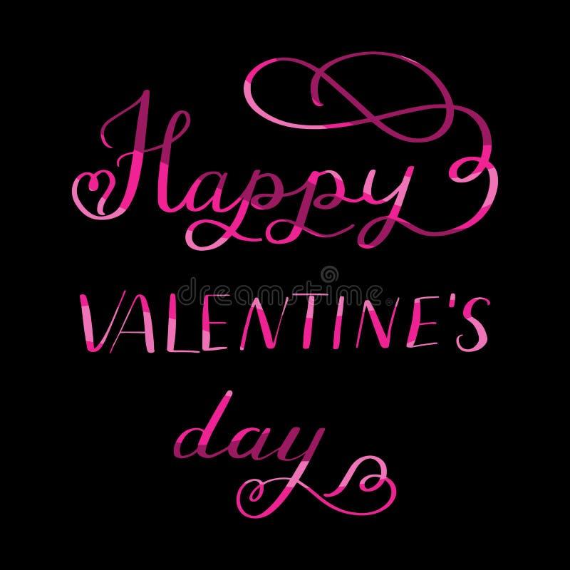 El poner letras - día de tarjetas del día de San Valentín feliz fotos de archivo