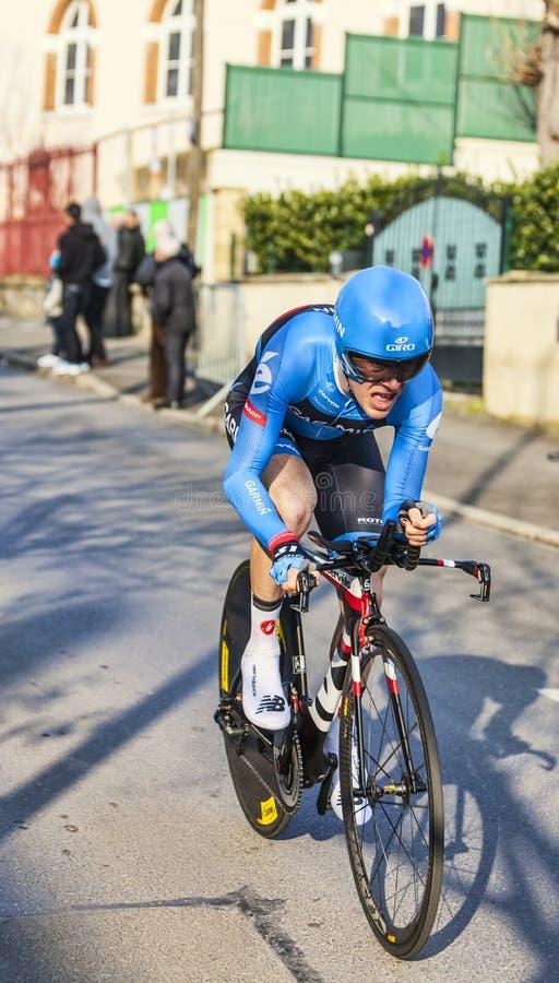 El prólogo 2013 de Talansky Andrew París del ciclista Niza en Houille