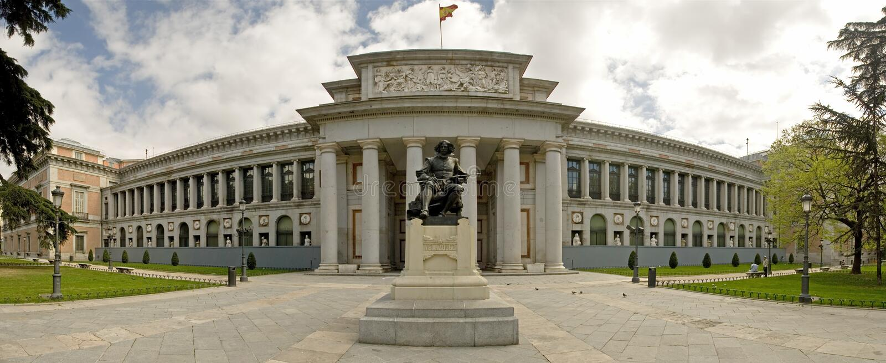 El Prado Museum stock photography