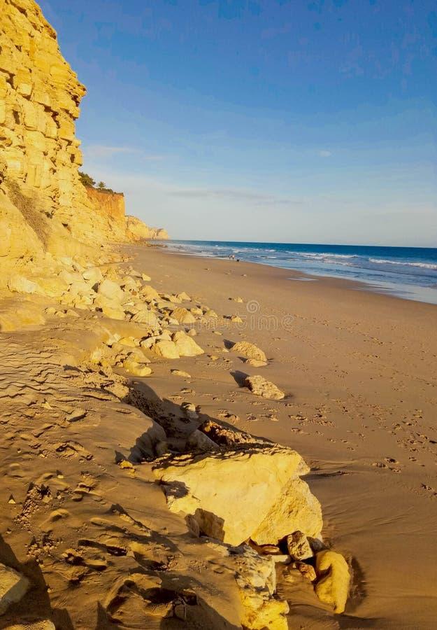 El Praia hace Canavial - Lagos - Algarve - Portugal fotografía de archivo libre de regalías