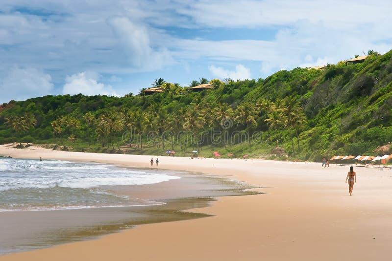 El Praia hace el amor, el Brasil foto de archivo