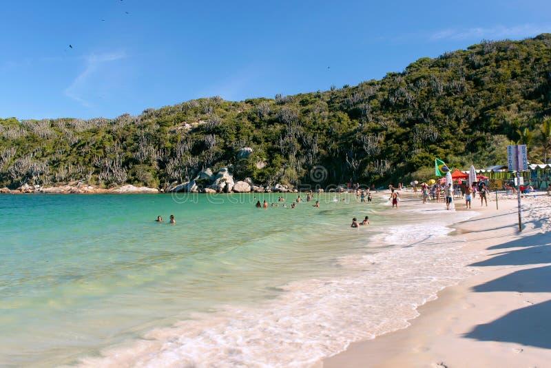 EL PRAIA HACE FORNO, ARRAIAL HACE CABO Playa el Brasil de Forno fotos de archivo