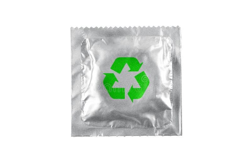 El preservativo recicla fotos de archivo libres de regalías