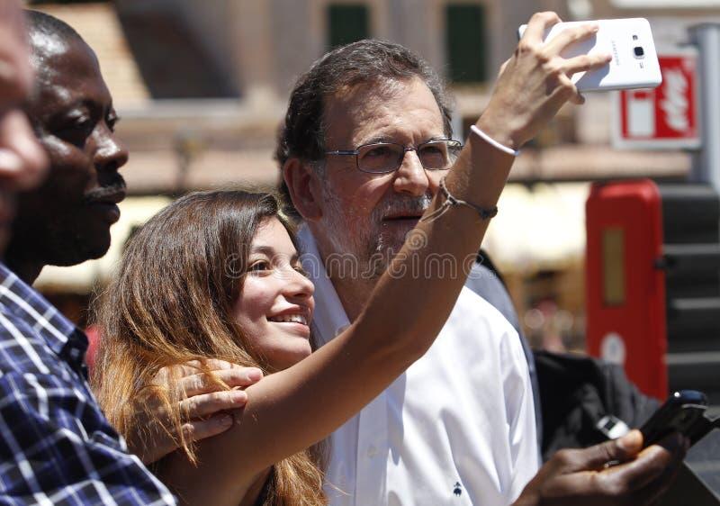 El presidente de España Mariano Rajoy fotografía de archivo