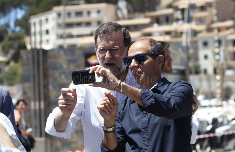 El presidente de España Mariano Rajoy foto de archivo libre de regalías