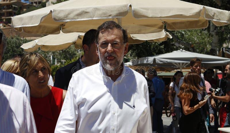 El presidente de España Mariano Rajoy fotografía de archivo libre de regalías