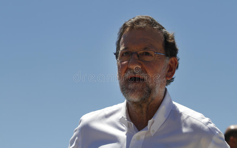 El presidente de España Mariano Rajoy fotos de archivo