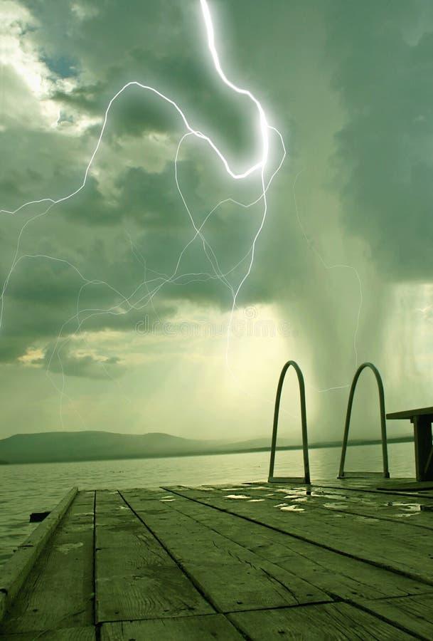 El principio del tornado fotografía de archivo libre de regalías