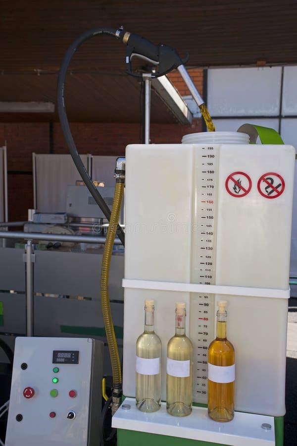 El producir del biodiesel imagenes de archivo