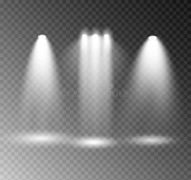 El proyector brilla libre illustration