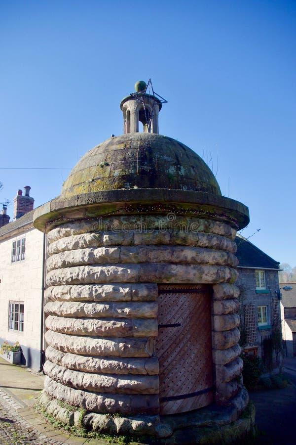 El pueblo viejo se cierra para arriba en Alton fotografía de archivo libre de regalías