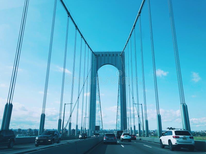 """El puente de Bronx†""""Whitestone en New York City imágenes de archivo libres de regalías"""