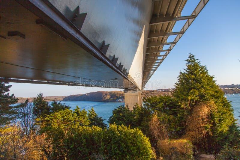 Puente de Cleddau fotos de archivo libres de regalías