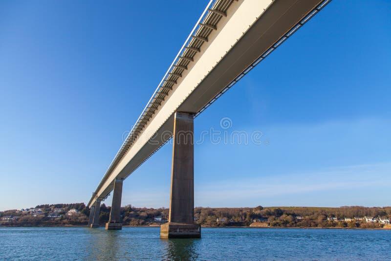 Puente de Cleddau foto de archivo