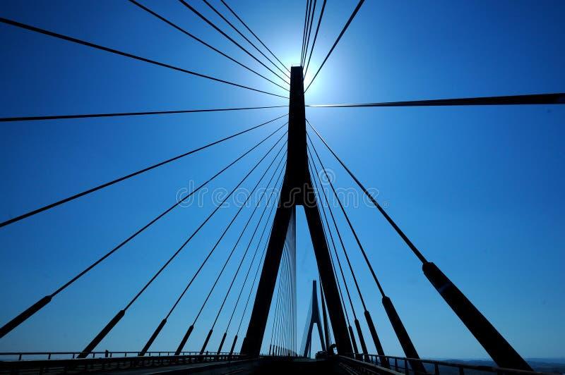 El puente de Guadiana - España y Portugal foto de archivo libre de regalías