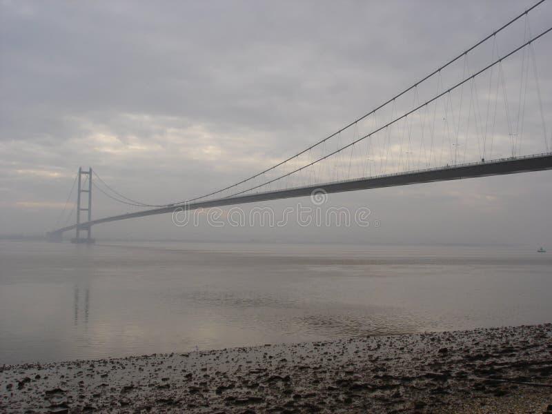 El puente de Humber imagen de archivo