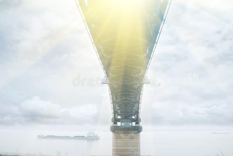 El puente de jiujiang fotografía de archivo libre de regalías