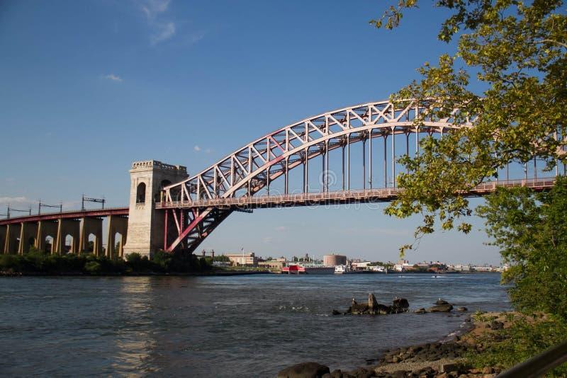 El puente de la puerta del infierno, Nueva York fotografía de archivo libre de regalías