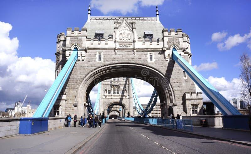 El puente de la torre de Londres fotografía de archivo