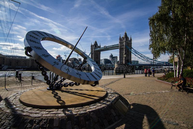 El puente de la torre de Londres imagen de archivo