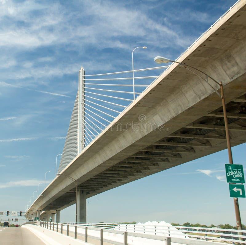 El puente de los veteranos foto de archivo