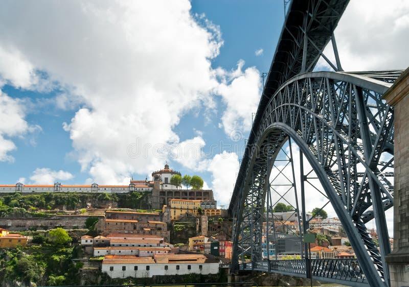 El puente de Luis I foto de archivo libre de regalías