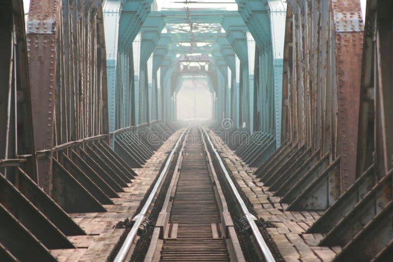 El puente del trailroad imágenes de archivo libres de regalías