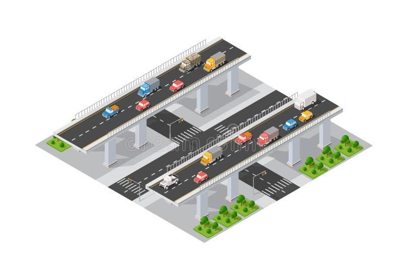 El puente skyway libre illustration