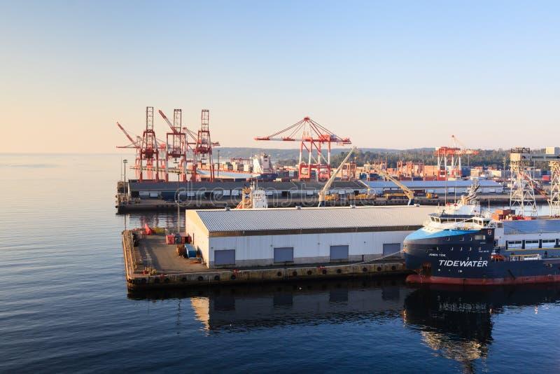 El puerto de Halifax imagenes de archivo