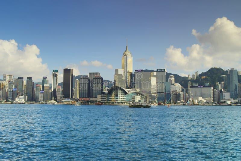 El puerto de Hong-Kong Victoria imágenes de archivo libres de regalías