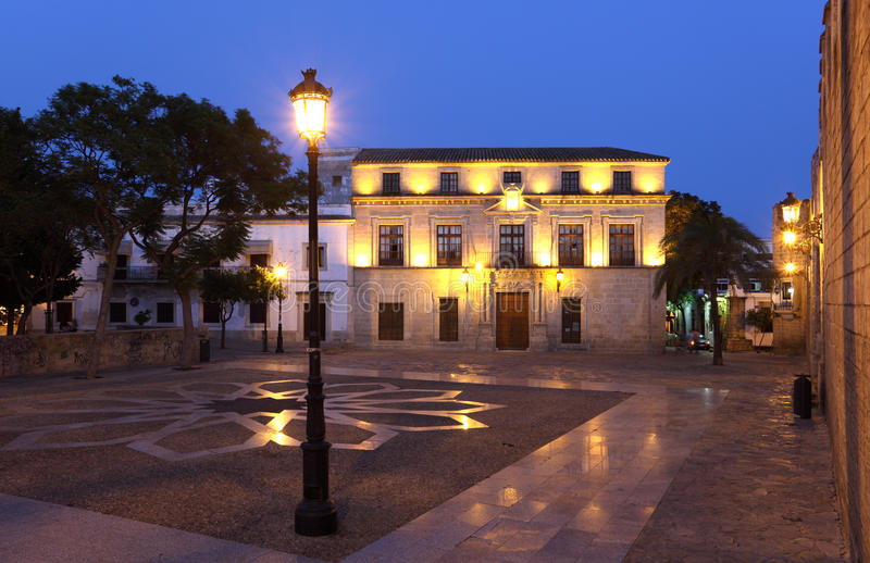 El Puerto de Santa Maria, Spanien royaltyfria foton