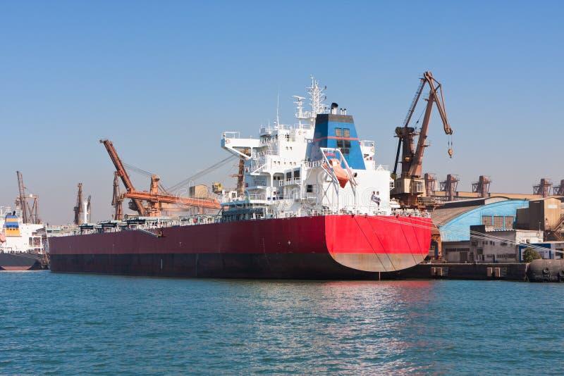 El puerto de Santos imagen de archivo libre de regalías