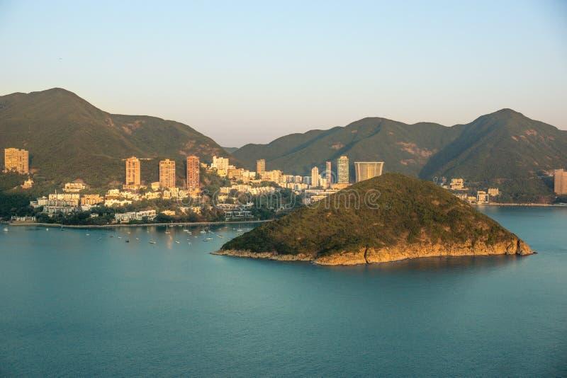 El puerto en Hong Kong fotos de archivo libres de regalías